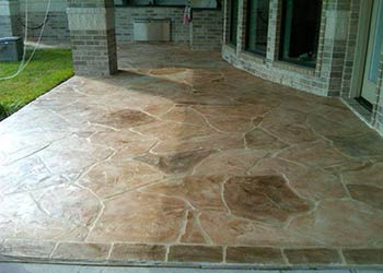 Stamped Concrete Overlays Decorative  Resurfacing Repair Houston