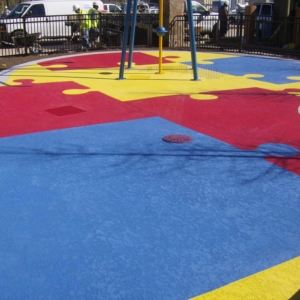Splash Pad Coating System by Sundek