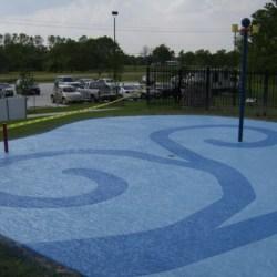 Splash pad Coatings in Houston, Galveston, and Central Texas