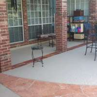 Residential Patio with Classic Texture