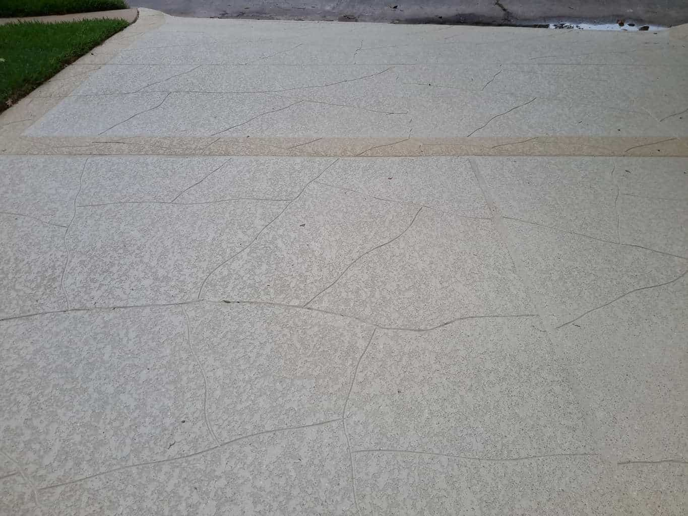 Residential Driveway using Classic Texture System