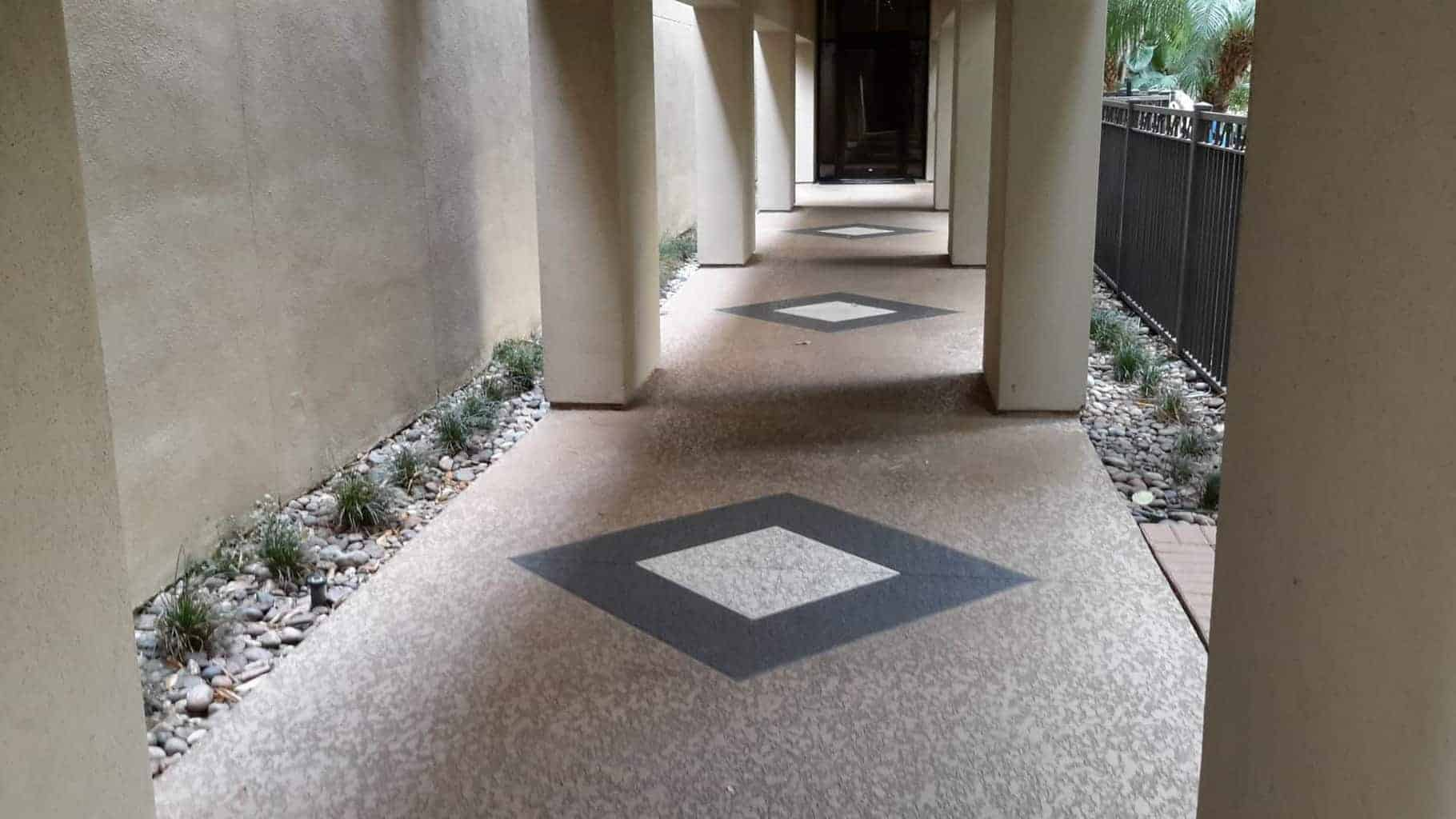Commercial Walkway with Classic Texture System